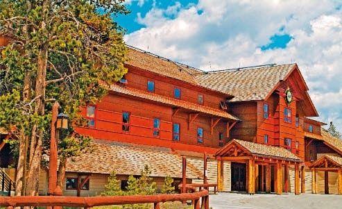 Old Faithful Snow Lodge & Cabins Angebot aufrufen