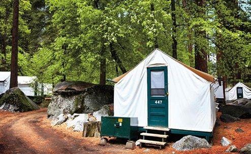 Half Dome Village Angebot aufrufen