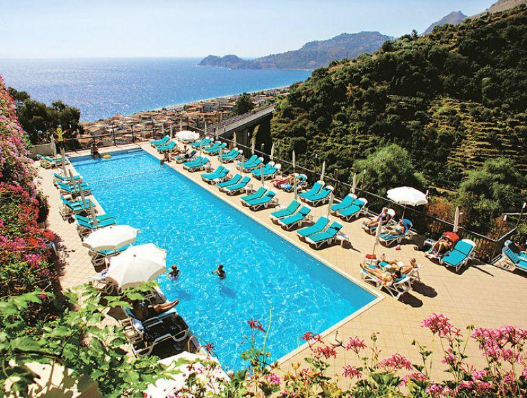 Hotel Antares & Olimpo & Le Terrazze - Urlaub 2018 in Letojanni ...