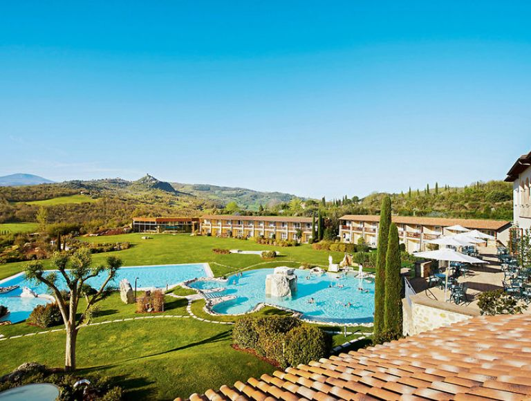 Hotel adler thermae resort & spa in bagno vignoni bei thomas cook buchen