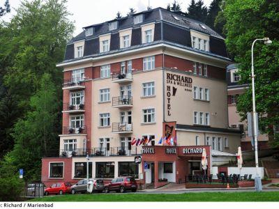 Wellness Spa Hotel Richard In Marienbad Marianske Lazne Bei