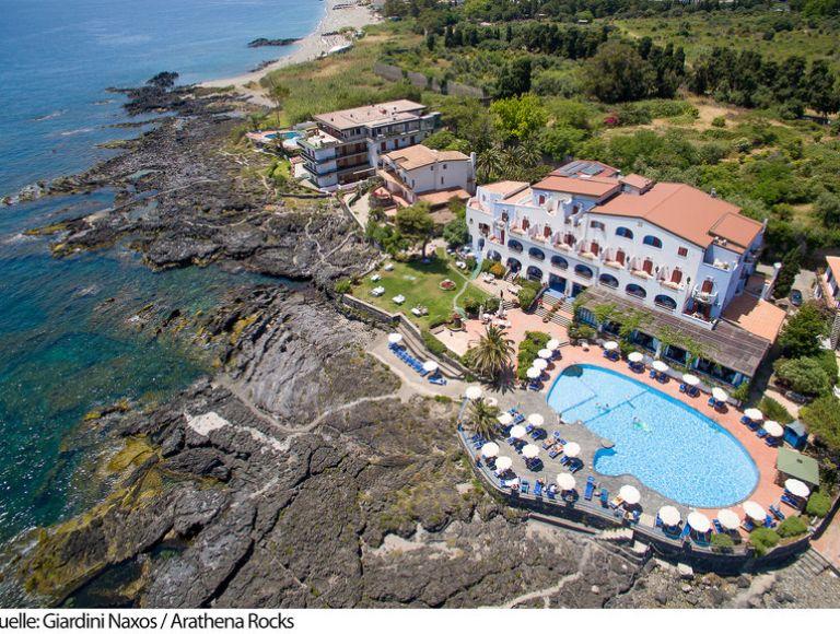 Hotel arathena rocks in giardini naxos bei thomas cook buchen